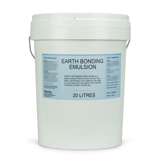 Earth Bonding Aqueous PVA Emulsion For Earth Buildings