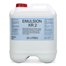 KR2 Emulsion water repellent additive 20L - Tech-Dry