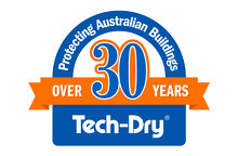 Tech-Dry over 30 years of building protection